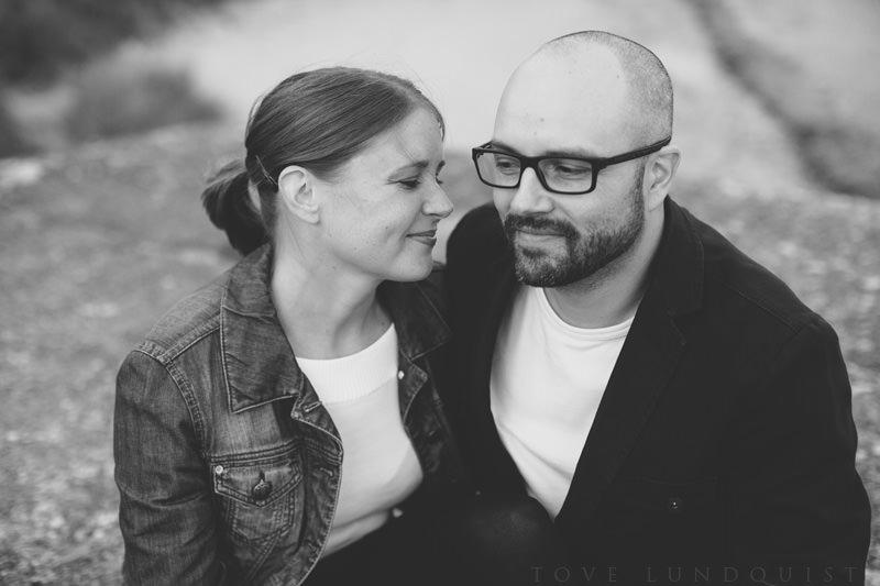Provfotografering Mossbystrand, bröllop i Abbekås. Foto: Tove Lundquist, bröllopsfotograf Skåne.
