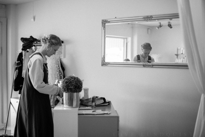 Brudförberedelser på Salong by Catzy, Löddeköpinge.