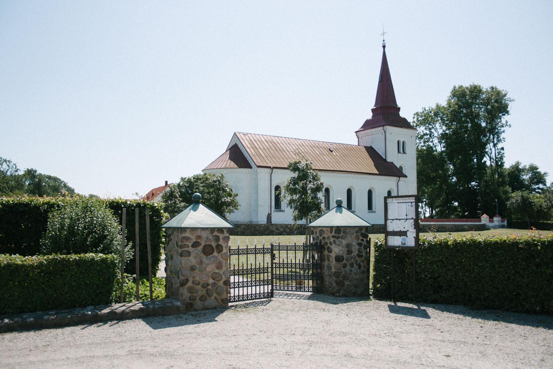 Bröllop i Östra Torps kyrka, Smygehamn. Foto: Tove Lundquist.