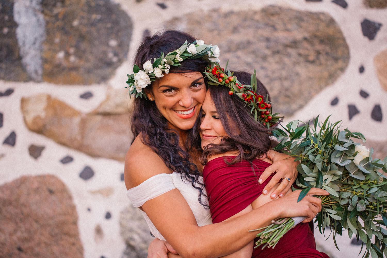 Porträtt på brudtärna och brud. Från ett bröllop på Trolleholms slott i Skåne.