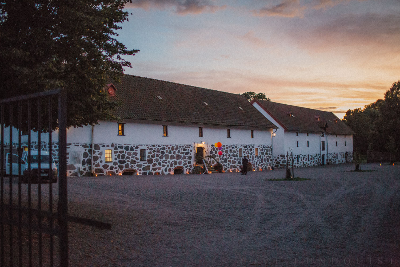 Fest på Trolleholms slott.