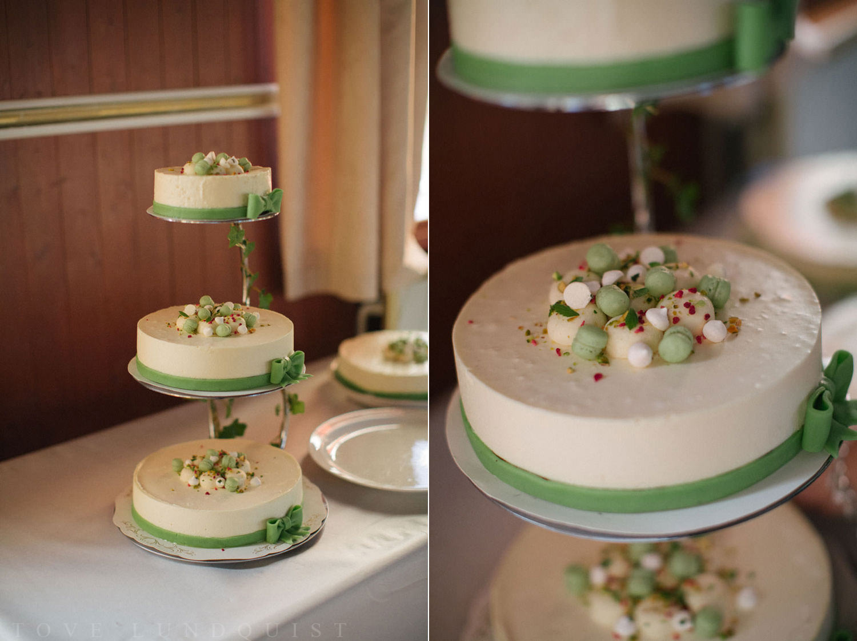 Bröllopstårta från Julia Perdelius. Foto av Tove Lundquist.