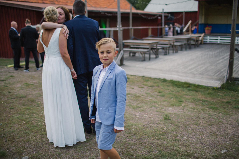 Bröllop på Kaffetorpet Oknö, Småland.