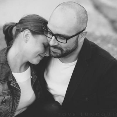 Anna och Christian ~ Provfotografering Mossbystrand