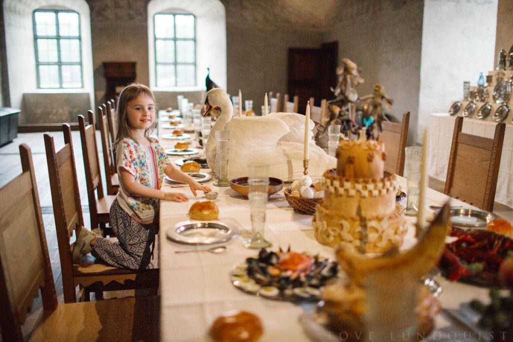 På semester i Kalmar, med besök på Kalmar Slott. Foto: Tove Lundquist, fotograf i Skåne och Småland.