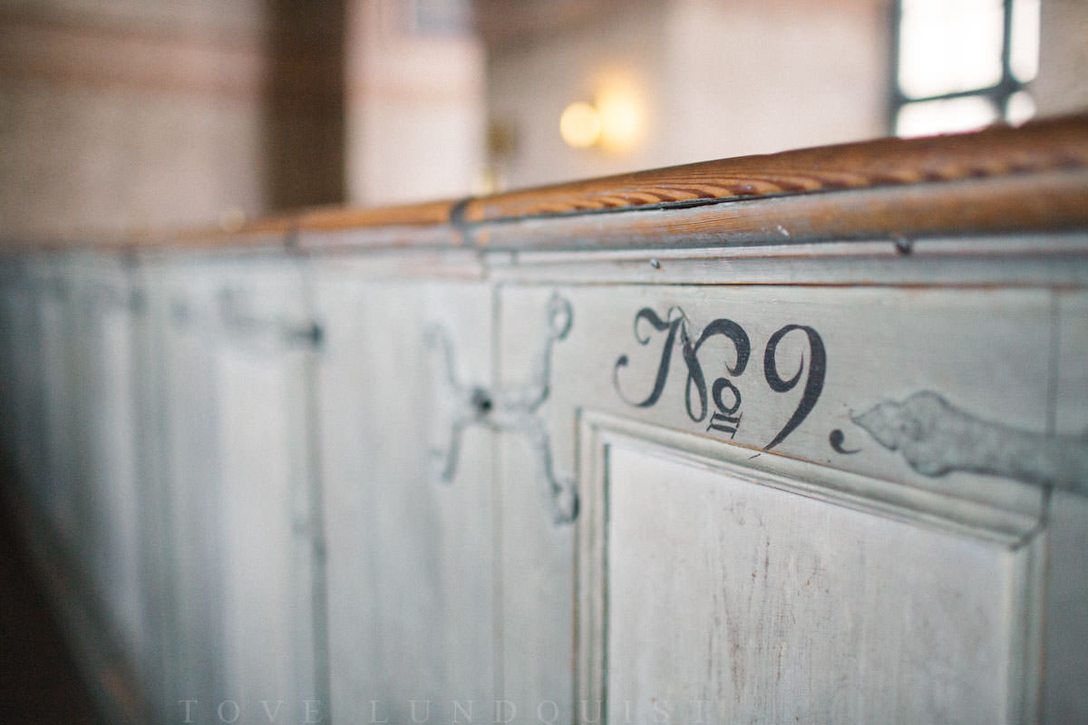 Bild från Kalmar Slottskyrka. Foto: Tove Lundquist, bröllopsfotograf Småland och Kalmar Slott.