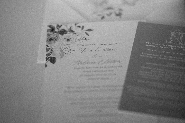 Miljövänliga design och tryck inbjudningskort bröllop. Fler tips finner ni på hemsidan. Foto: Tove Lundquist.