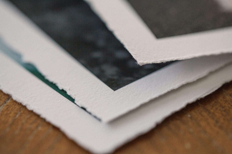 Produkter från QT Albums, Deckled Edge Prints w/ Border. Foto: Tove Lundquist