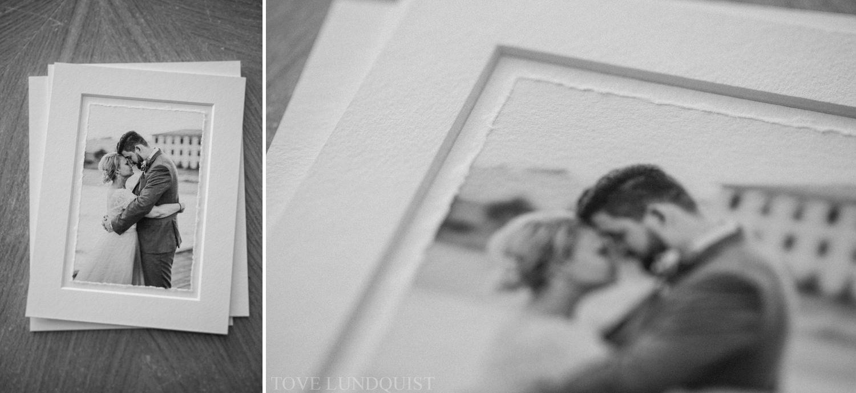 Produkter från QT Albums, vackra Fine Art printar som heter Matted Deckled Edge Prints. Foto: Tove Lundquist