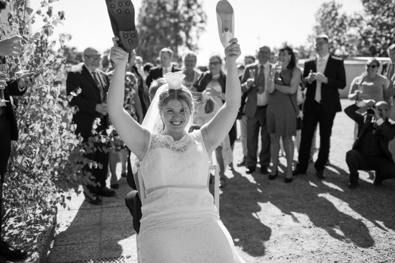 Bröllop i Smygehamn, porträtten togs i Smygehuk. Fotograf: Tove Lundquist.
