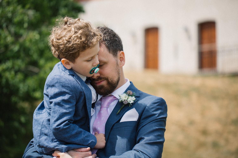 Bröllop på Eriksbergs Vilt & Natur i Karlshamn, Blekinge. Fotograf är Tove Lundquist.
