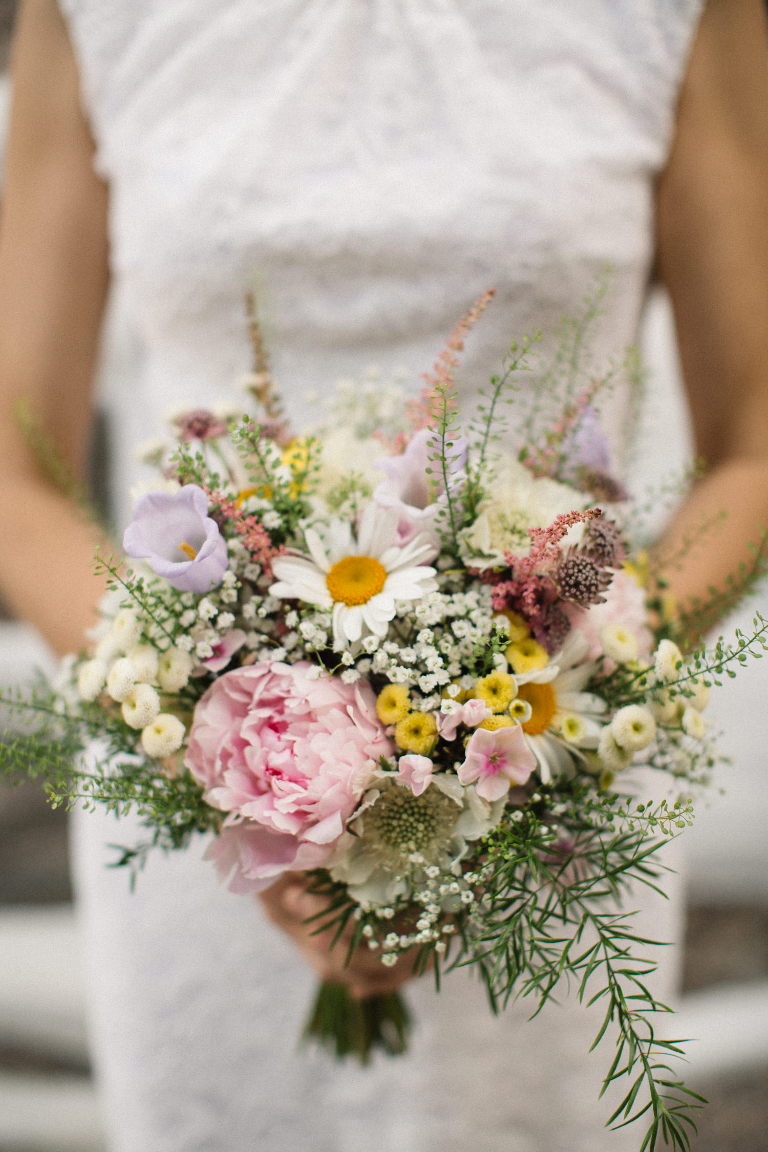 Brudbukett. Bröllop i Blekinge.