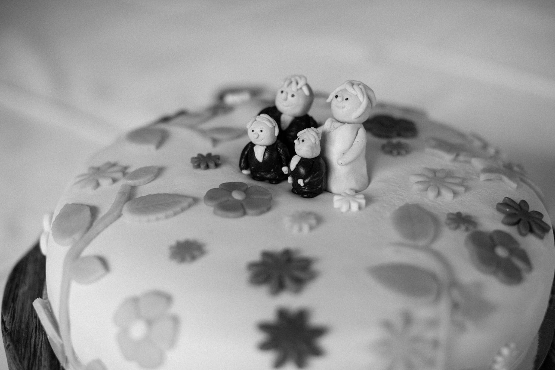 Bröllopstårta. Fotograf är Tove Lundquist.
