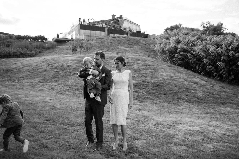 Bröllop på Eriksbergs Vilt & Natur, Blekinge. Fotograf är Tove Lundquist.