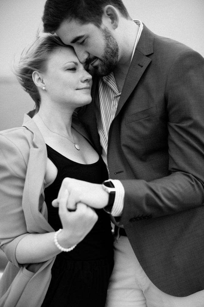Pre-shoot tillsammans med ett brudpar inför deras bröllop. Fotograf är Tove Lundquist.